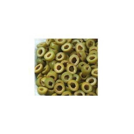 Oliwki zielone krojone 800g (waga netto)