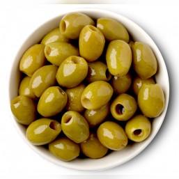 Oliwki bez pestek zielone Chalkidiki 400 g (vacum)