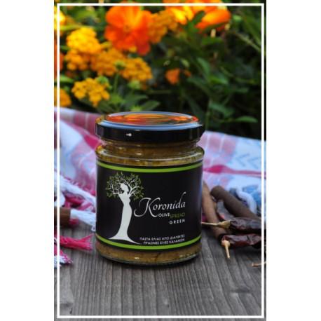Pasta z oliwek zielonych 190gr (waga netto)