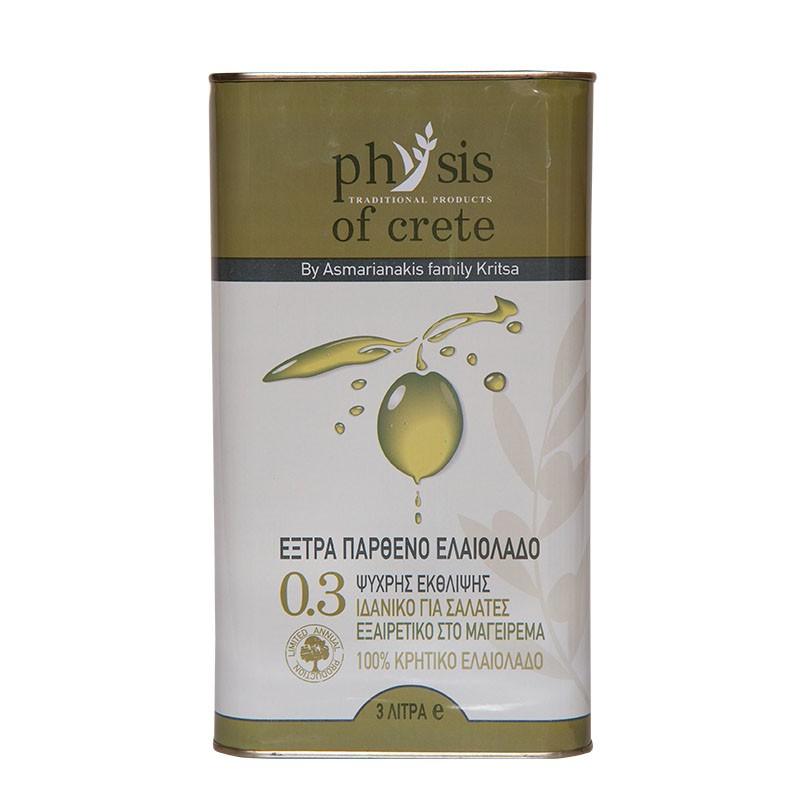 Oliwa z oliwek Physis of Crete 0.3% 5 l