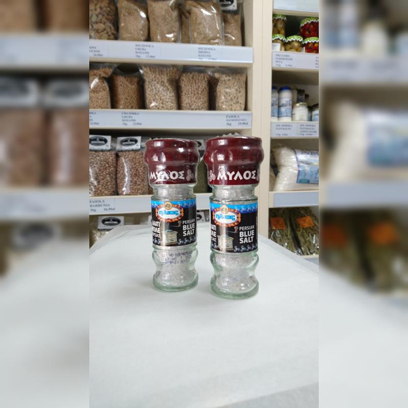 Sól perska niebieska z młynkiem 80 g