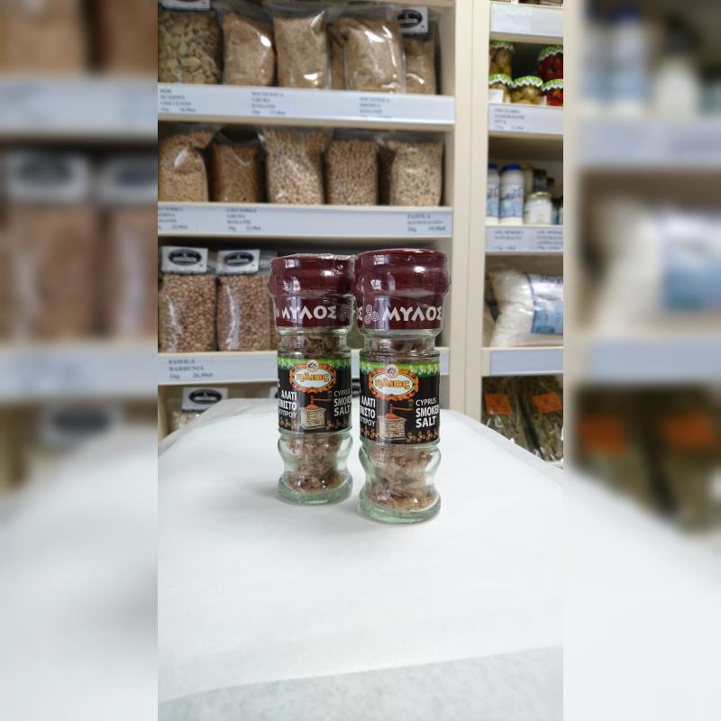 Sól cypryjska wędzona z młynkiem 35 g