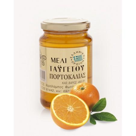 Grecki miód z kwiatów pomarańczy