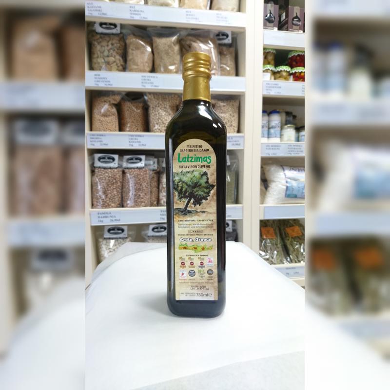 Oliwa z oliwek Extra virgin Latzimas 0.8% 750 ml