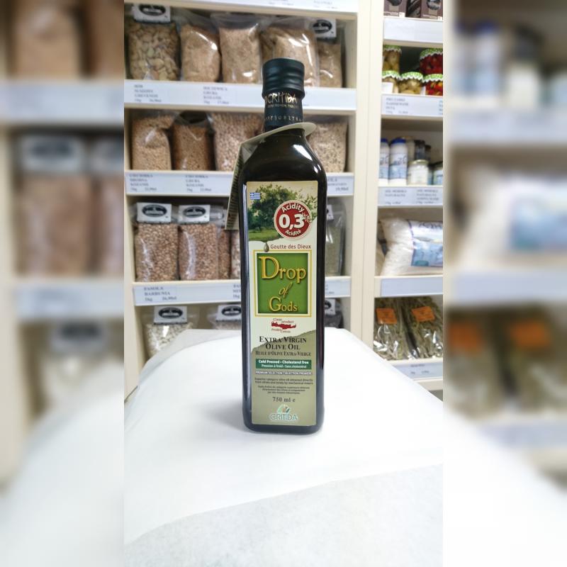 Oliwa z oliwek Critida Drop of Gods 0.3% 750 ml