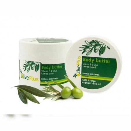 Masło do ciała z ekstraktu z liści oliwek 200 ml