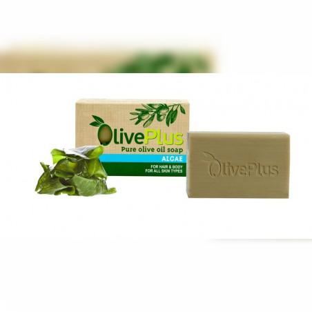 Naturalne mydło oliwkowe z algami 100g