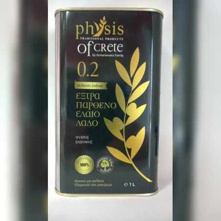 Oliwa z oliwek Physis of Crete 0,5l 0,2%