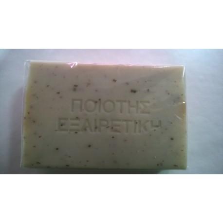 Naturalne mydło oliwkowe z liscmi oliwkowymi 100gr