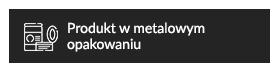 Produkt w metalowym opakowaniu