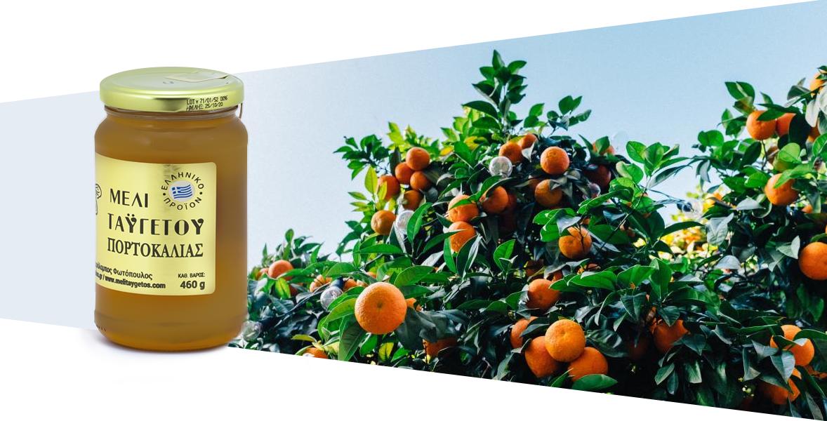 Miód z kwiatów pomarańczy