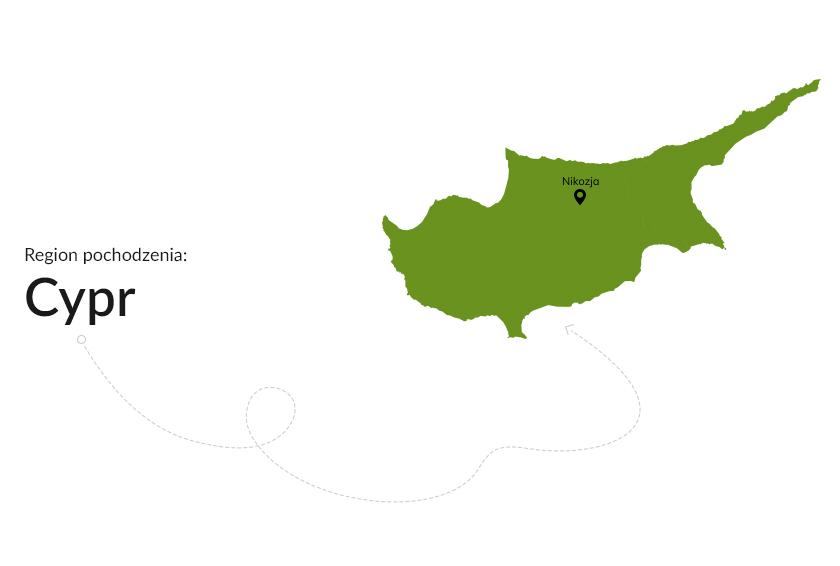 Region pochodzenia: Cypr