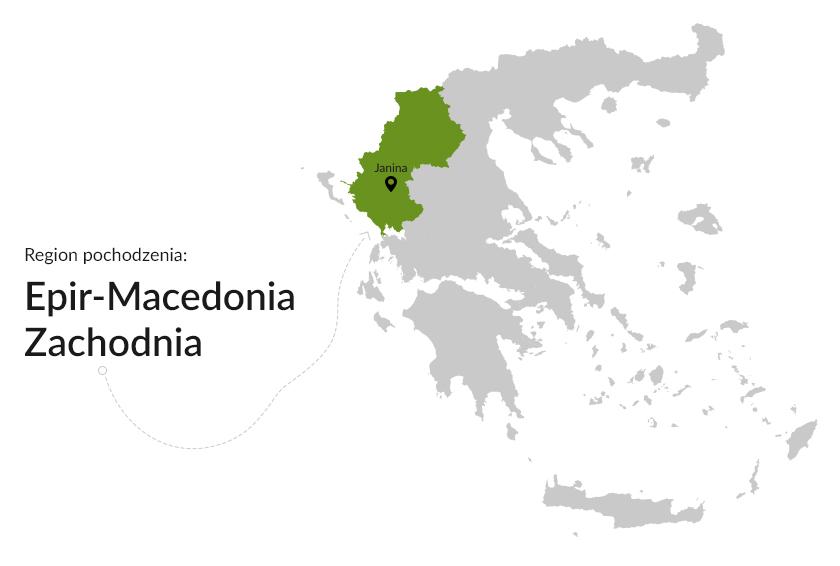 Region pochodzenia: Epir-Macedonia Zachodnia