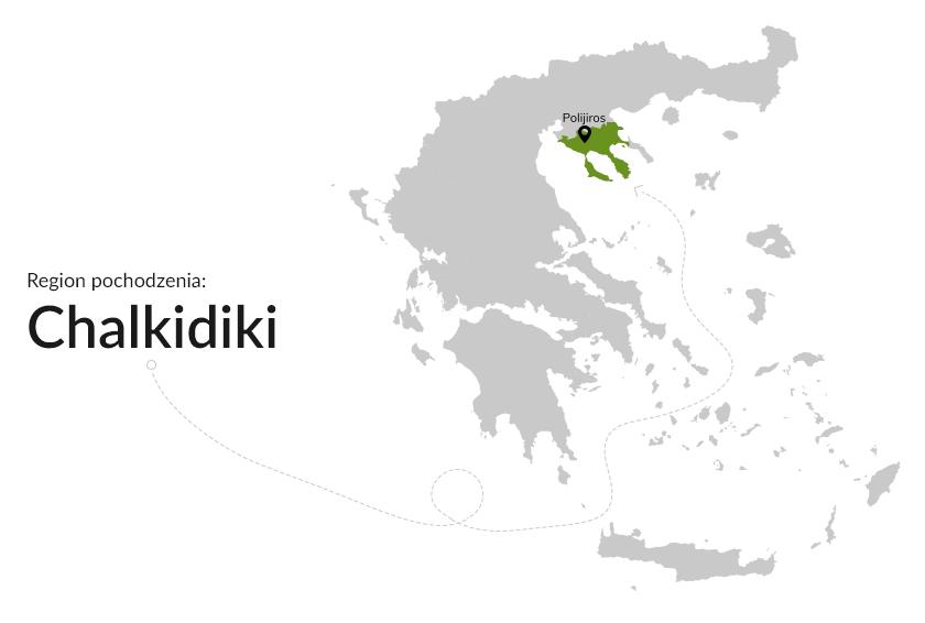 Region pochodzenia: Chalkidiki