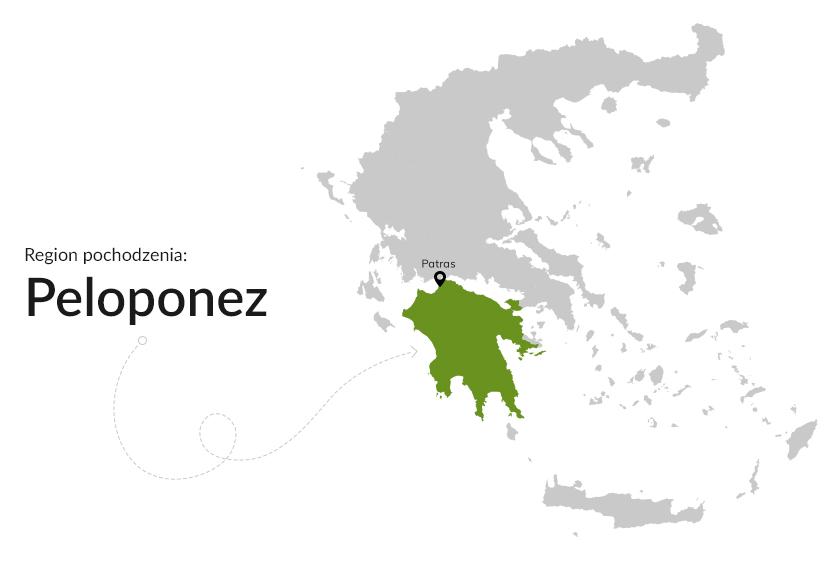 Region pochodzenia: Peloponez