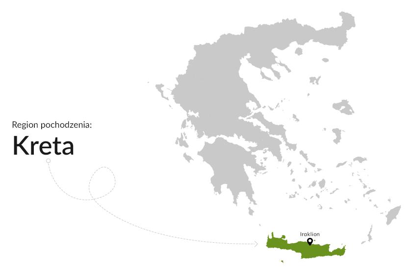 Region pochodzenia: Kreta